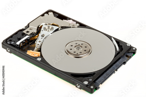 Fotografia  uncovered 2,5 inch notebook hard drive