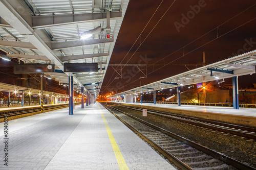 Fotografie, Obraz  Vlakové nádraží