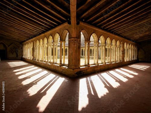 Stampa su Tela Cloister shadows France