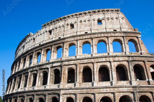 Foto op Aluminium Rome The Colosseum in Rome, Italy.
