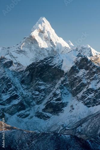 Photo  Ama Dablam, Solu Khumbu, Nepal.