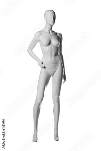 Photo mannequin female isolated