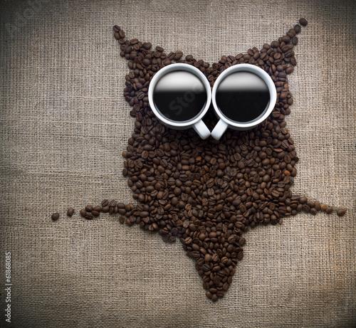 Coffee core owl