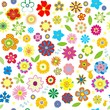 Spring vector floral