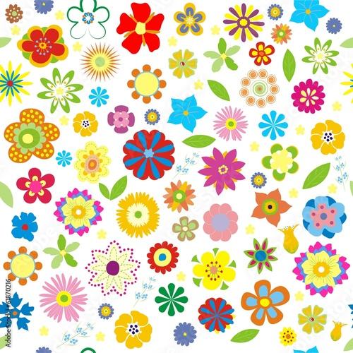 Obraz Spring vector floral - fototapety do salonu