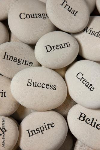 obraz PCV Inspirujące kamienie