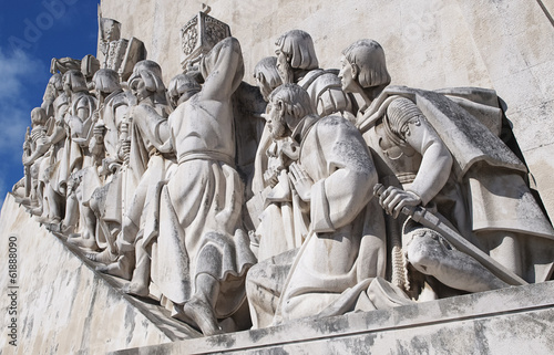 Fototapety, obrazy: Close Up Monument to the Discoveries at Lisbon, Portugal