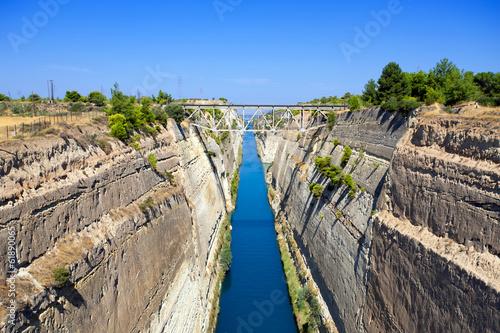 Fényképezés Corinth canal