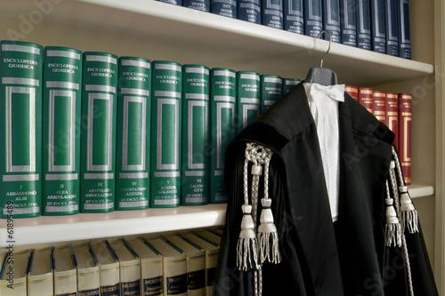 Fotografía  toga avvocato