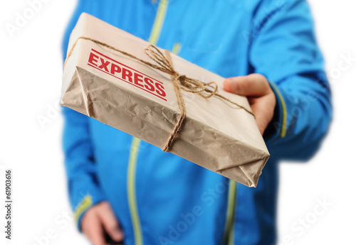 Fotografía  Mail express delivery