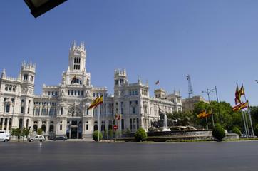 ayuntamiento cibeles madrid