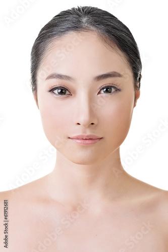 Photo  Asian beauty face