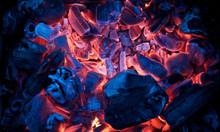Burning Campfire Embers (hot C...