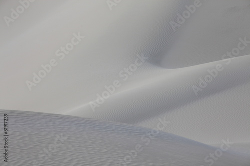 Staande foto Fractal waves Sand desert dunes of Socotra island