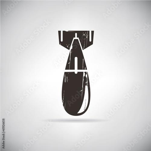 Fotografie, Obraz  retro steel bomb