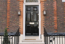 London Haustür Downing Street