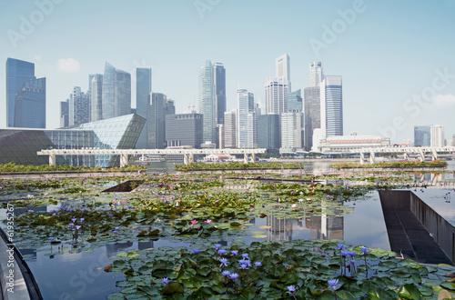 "Photo  Singapore the ""City in a Garden"". `"