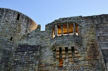 Stone Bridge And Building In Barnard Castle