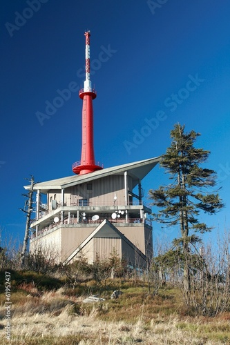 Photo  Transmission Tower on Lysa hora