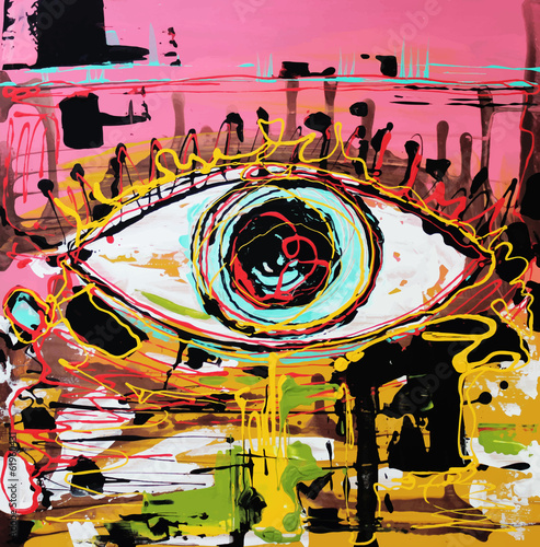 abstrakcyjna-kompozycja-ludzkiego-oka