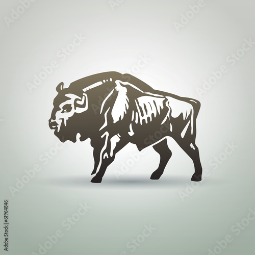 Fényképezés  Belarusian aurochs
