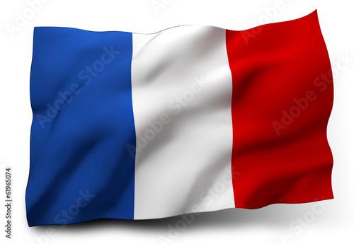 Plagát  flag of France