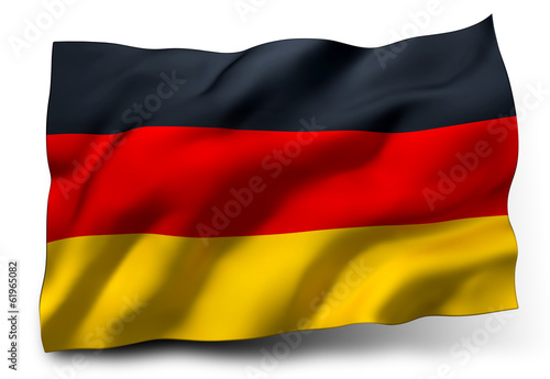 Fotografie, Obraz  flag of Germany