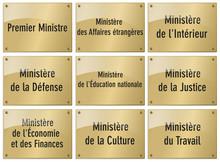 PLAQUES-MINISTERE Régalien