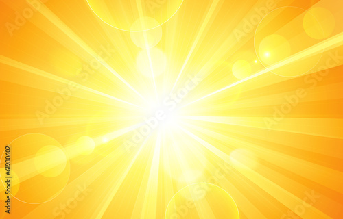 Sunny background. Vector