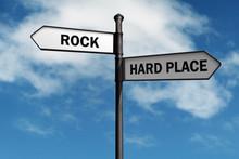 Stuck Between A Rock And A Har...