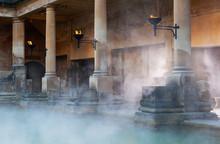 Roman Baths In Bath, UK