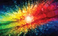 Background Texture Triangle Geometry Color Universe Splash