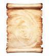 canvas print picture Old Parchment Romantic Paper Background