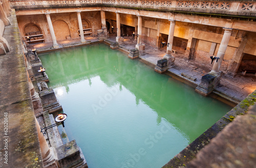 Keuken foto achterwand Noord Europa The Great Bath at the Roman Baths