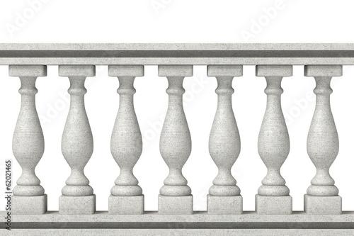 Balustrade Pillars Wallpaper Mural
