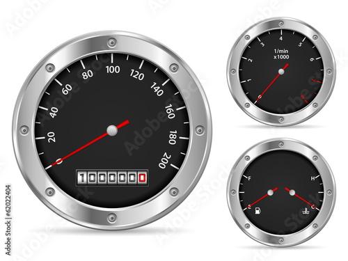 Photo  speedometer