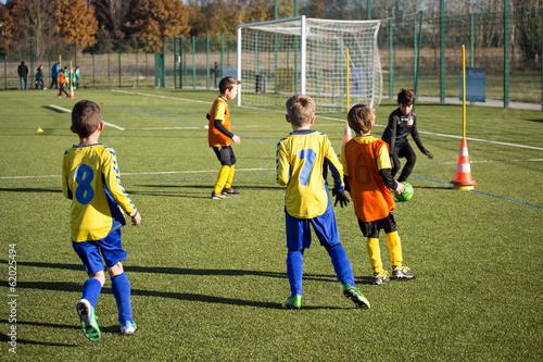 Fotografie, Tablou  Match de Football - Catégorie U9