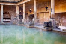 Main Pool In The Roman Baths I...