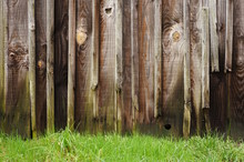 Hintergrund Marodes Holztor