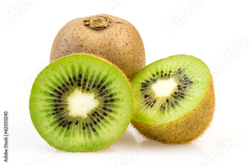 Fotografie, Tablou  Two kiwi slices