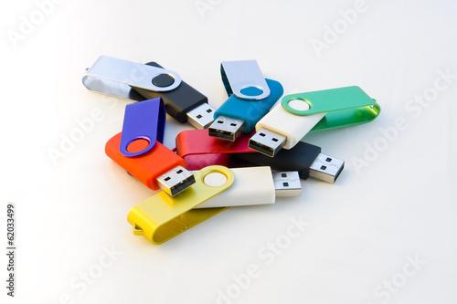 Fotografie, Obraz  Memorias USB