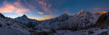 Panoramic View Of Annapurna Ra...