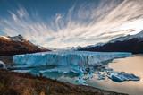 Perito Moreno Glacier in the autumn afternoon, Argentina.