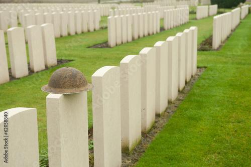 Obraz na płótnie WW1 Military Cemetery