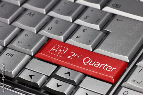 Fotografía  Computer key - 2nd quarter