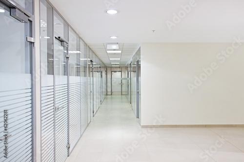 Obraz na płótnie Empty office corridor