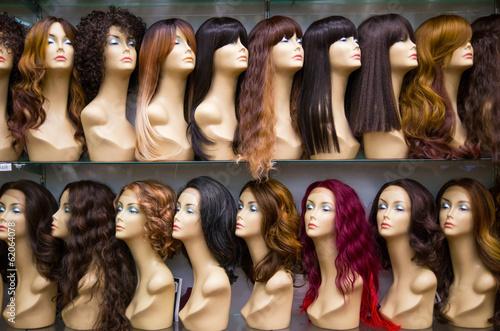 Obraz na plátně row of Mannequines