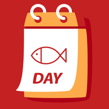 Calendar With A Fish.