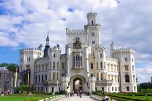 チェコ、フルボカー城