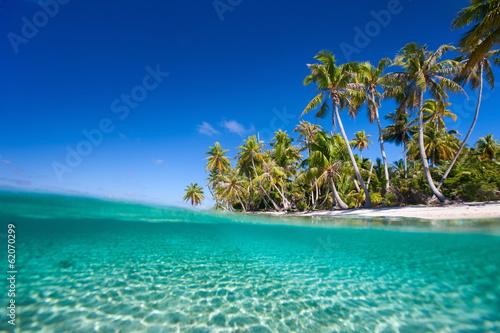Poster Strand Tropical island